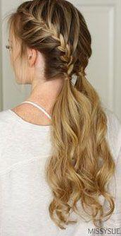 41 ideas hair tutorial summer hairstyles for 2019 French Braid Hairstyles, Pretty Hairstyles, Wedding Hairstyles, Hairstyle Ideas, Latest Hairstyles, Hairstyles 2018, Hairdos, Teenage Hairstyles, Makeup Hairstyle