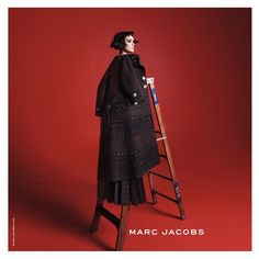 Winona Ryder by David Sims @davidlsims for Marc Jacobs @marcjacobs Fall 2015 #composition #motion