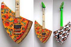 pizza guitar 3 pic on Design You Trust