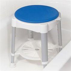 Rotating Seat Bath Stool