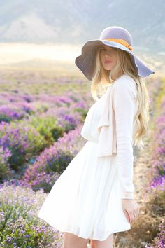 In The Lavender  ~  Just Beautiful