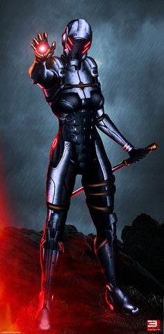 Mass Effect 3 The Last Of Phantoms HD (2012) by RedLineR91.deviantart.com
