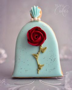Enchanted Rose Cookie Beauty and the Beast