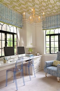 I could really get some work done in a room like this!