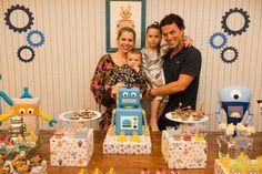 Organize sem Frescuras | Rafaela Oliveira » Arquivos » Robot Party: Decoração do aniversário de 1 ano do meu filho Arthur