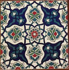 Cearmic Iznik Art Wall Tiles