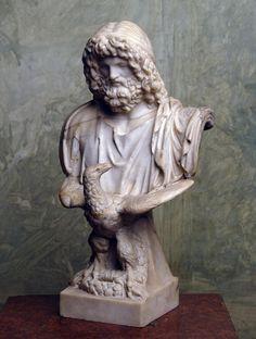...Zeus  Ancient Rome, 1th century BC Roman copy from a Greek original