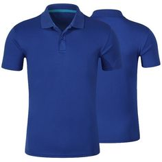 Plain Short Sleeve Button Polo Shirt (49 BRL) ❤ liked on Polyvore featuring men's fashion, men's clothing, men's shirts, men's polos, mens short sleeve polo shirts, mens polo shirts, mens button shirts, mens polo button down shirts and mens short sleeve button down shirts