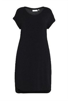 "Blue Illusion ""Dual fabric dress"" black viscose blend size 1 (10-12) NWT • AUD 20.00 - PicClick AU"
