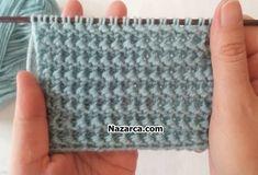 Knitting Stiches, Knitting Videos, Baby Knitting, Crochet Crocodile Stitch, Knit Crochet, Crochet Hats, Stitch Patterns, Knitting Patterns, Crochet Patterns