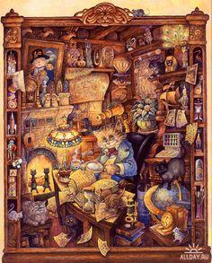 Иллюстрации Bill Bell