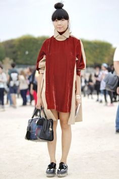 The Last Stop: Street Styles From Paris Fashion Week Spring 2014 | Popbee - a fashion, beauty blog in Hong Kong.