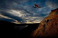 No where to go but down #mtb #downhill