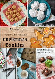 24 Days of Gluten-Free Christmas Cookie recipes - BoulderLocavore.com