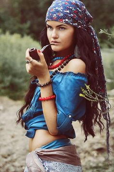 Sexy Gypsy Woman Fashion