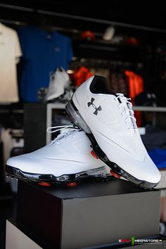2522872befd024 Under Armour Tour Tips Golf Shoes - White