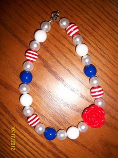 Chunky bead necklaces $14