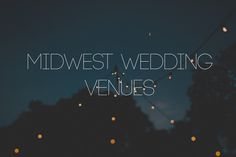 midwest outdoor rustic wedding venues