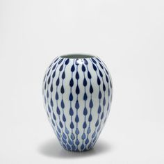 Image 1 of the product BLUE PAINTED TEARS VASE