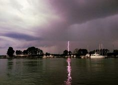 Another striking summer storm! Photo by: Doug Edmunds. Photo of the Week: http://cbf.typepad.com/chesapeake_bay_foundation/2013/07/photo-of-the-week-kent-narrows-lightning-strike.html#