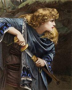 "Herbert Gustave Schmalz (1856-1935) - ""Imogen"""