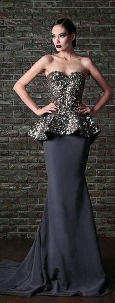 Rami Kadi - Couture - wish the top was it's own dress