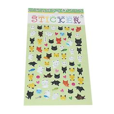 USD $ 1.19 - Little Cat Bubble Sticker, Free Shipping On All Gadgets!