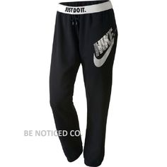 NWT Nike Women's Rally Sequin Sweatpants Black Silver Gray M in Athletic Apparel | eBay