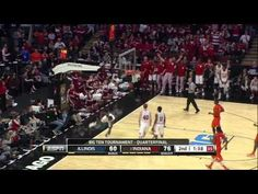 Victor Oladipo throws down a 360 dunk in the 3/15/13 game against Illinois during the B1G tourney...AMAZING!!
