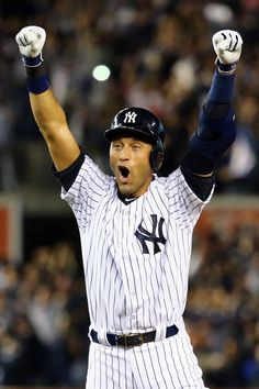 Derek Jeter Goes Off in Final Appearance at Yankee Stadium, Wins Game in Epic Fashion #2