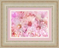 Daisy Sparkles Framed Print