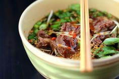Beef Pho Soup (Vietnamese soup)