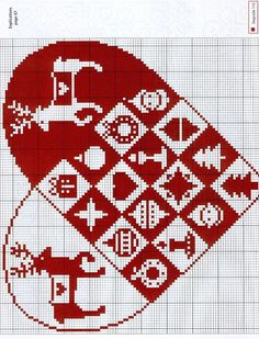 Cross-stitch Christmas Heart... Gallery.ru / Фото #29 - №67 - Orlanda