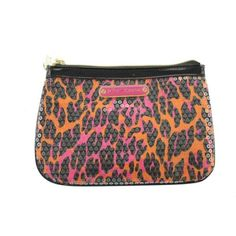New Betsey Johnson Sequined Animal Print Purse / Clutch. Starting at $5 on Tophatter.com!