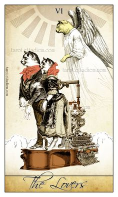 The Isidore Tarot – A New Neo Victorian Tarot Deck » The Lovers