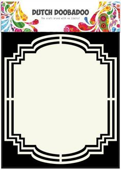 Dutch Shape Art frames label 2 A5 185071/3142