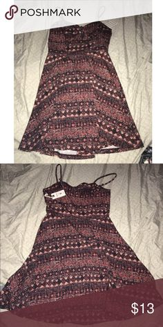 strappy dress never worn new with tags! Forever 21 Dresses
