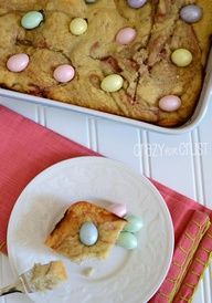 Raspberry Snack Cake for Easter Brunch with Cost Plus World Market - Crazy for Crust  #WorldMarket Easter
