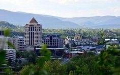 Downtown in the valley. Roanoke, Va