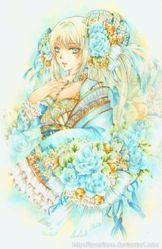 Blue Bell by laverinne.deviantart.com on @DeviantArt