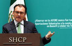 Luis Videgaray renuncia a la Secretaría de Hacienda
