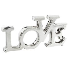 Love Sculpture - Silver | Pier 1 Imports