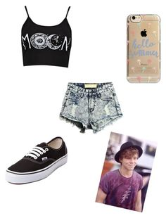 """Going on a summer walk with Ashton"" by danandphillover on Polyvore featuring Agent 18 and Vans"