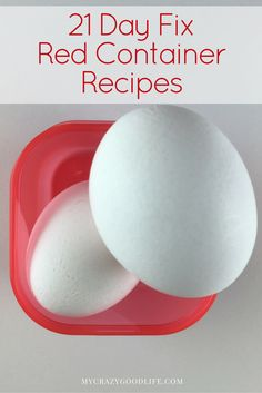 21 Day Fix Red Container Recipes