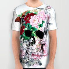 #skull #bird #t-shirt