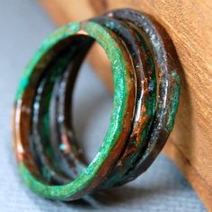 Very cool stackable rings