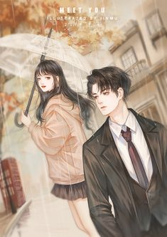 Cute Couple Art, Anime Love Couple, Manga Couple, Romantic Anime Couples, Romantic Manga, Anime Couples Drawings, Anime Couples Manga, Cartoon Girl Images, Cartoon Art