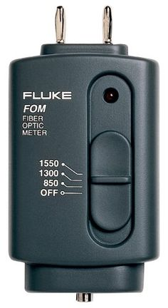 Fluke Fom Fiber Optic Power Meter, 9V Alkaline Battery, 0 To 40 Degree C Operating Temperature, 2015 Amazon Top Rated Network & Cable Testers #HomeImprovement