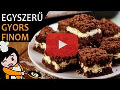 Reszelt túrós süti - Recept Videók - YouTube Make It Yourself, Ethnic Recipes, Youtube, Food, Drink, Cacao Powder, New Recipes, Home Made, Dessert Ideas