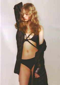 Veronika Antsipava by Vanina Sorrenti for Numéro Tokyo, June 2007